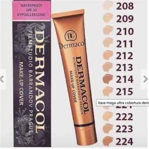 Dermacol Make Up Cover Base Alta Cobertura Maquiagem